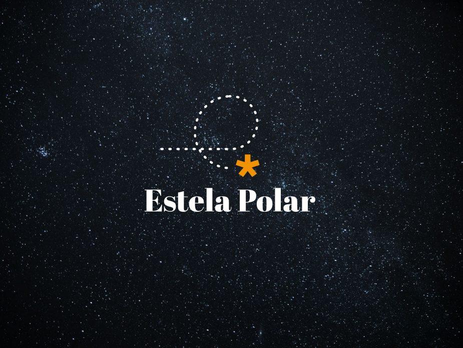Estela Polar con logo y fondo